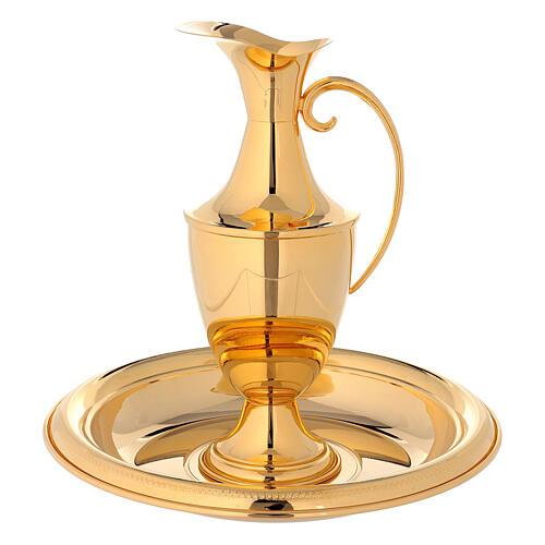 Ewer in brass, classic golden 1