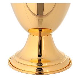 Jarra para lavagem das mãos clássica dourada s4