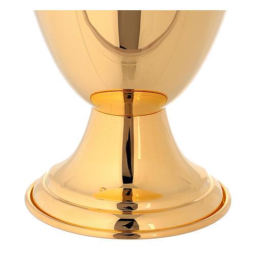 Jarra para lavagem das mãos clássica dourada 4