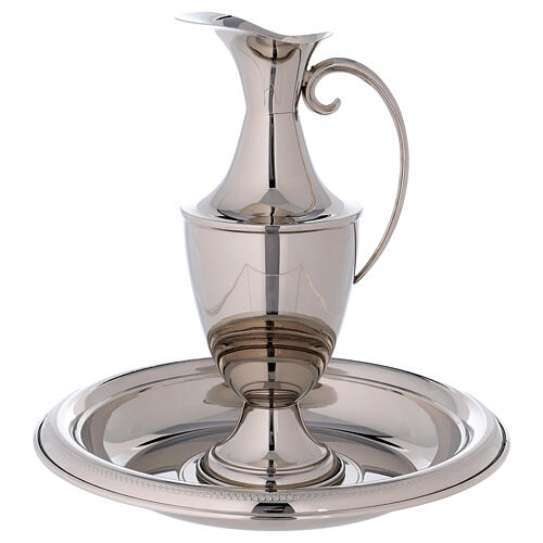 Classic silver plated ewer 1