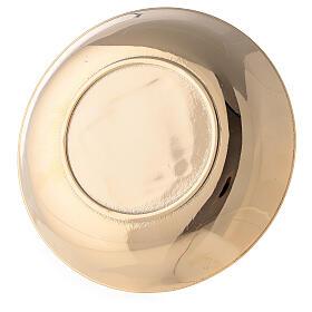 Aiguière et bassin pour manuterge en laiton doré brillant s5