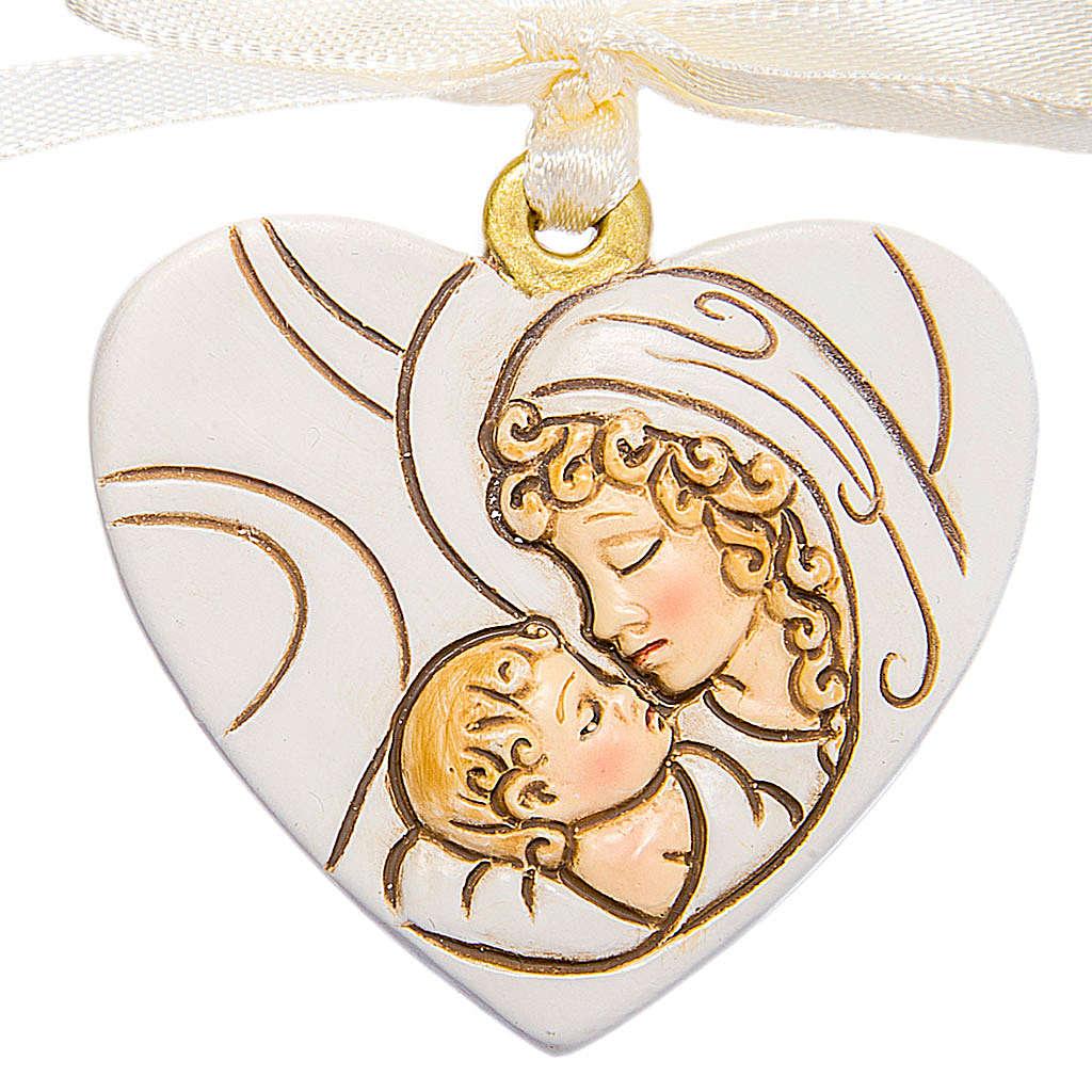 Ricordino Nascita Cuore Maternità 4 cm 3