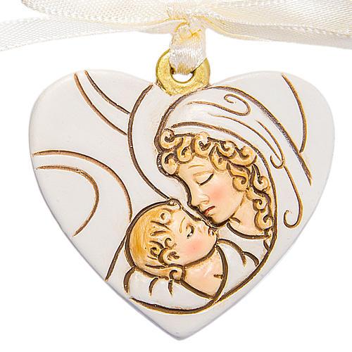 Ricordino Nascita Cuore Maternità 4 cm 1