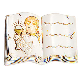 Magnet book First Communion Girl 5cm s1