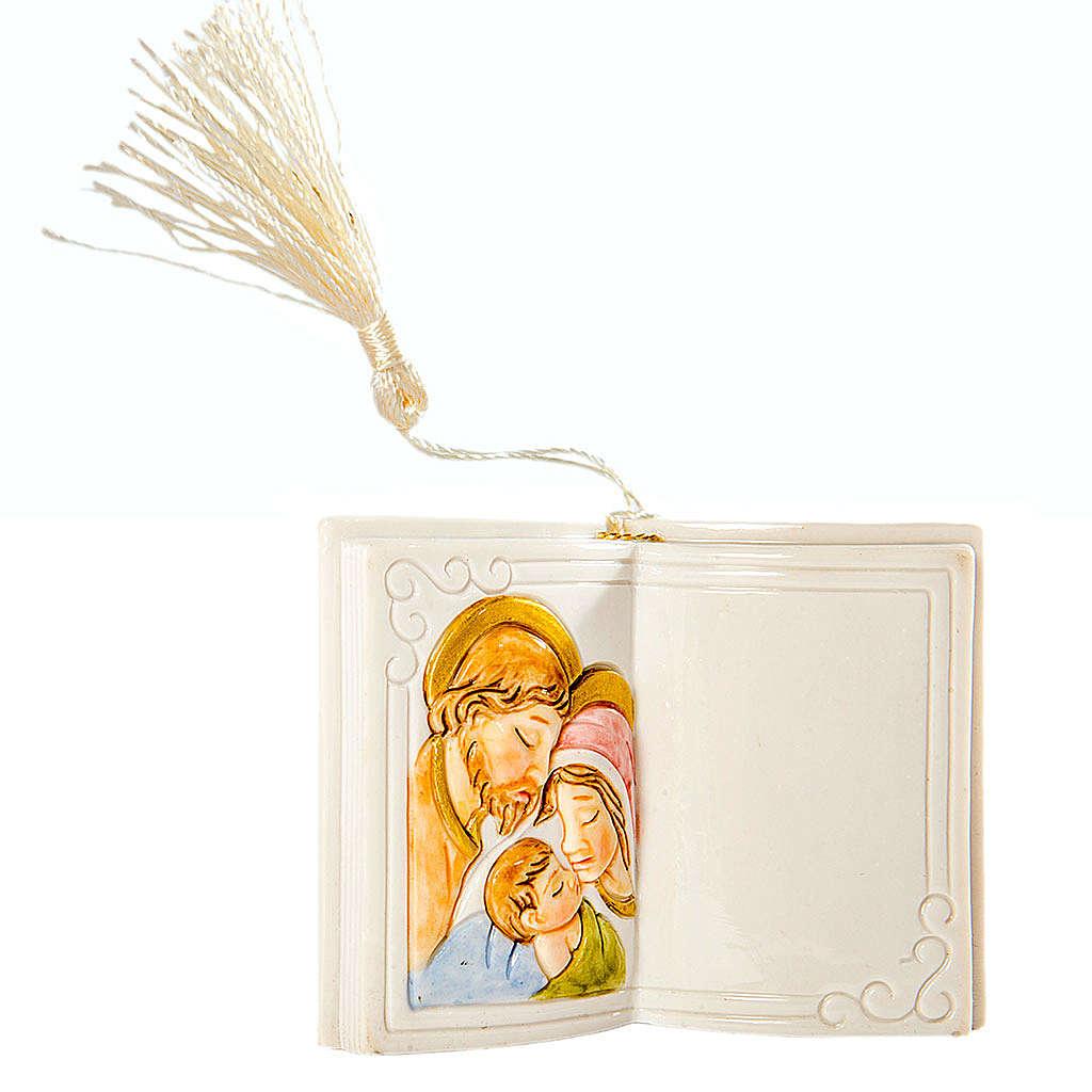 Bomboniera Matrimonio Libro S. Famiglia 7 cm 3