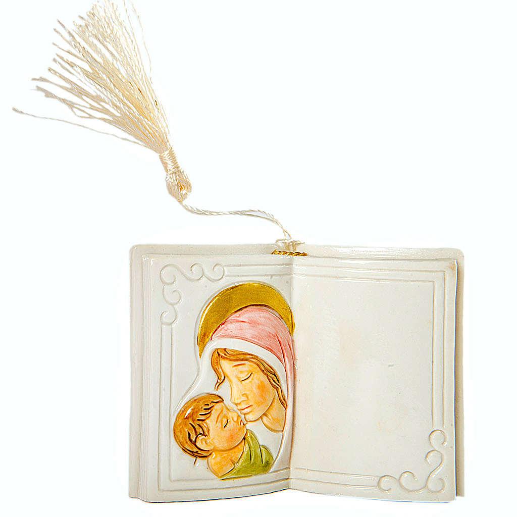 Ricordino Nascita Libro Lucido Maternità 7 cm 3