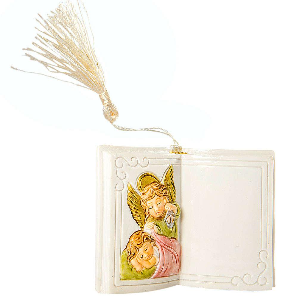 Livro brilhante anjo 7 cm 3
