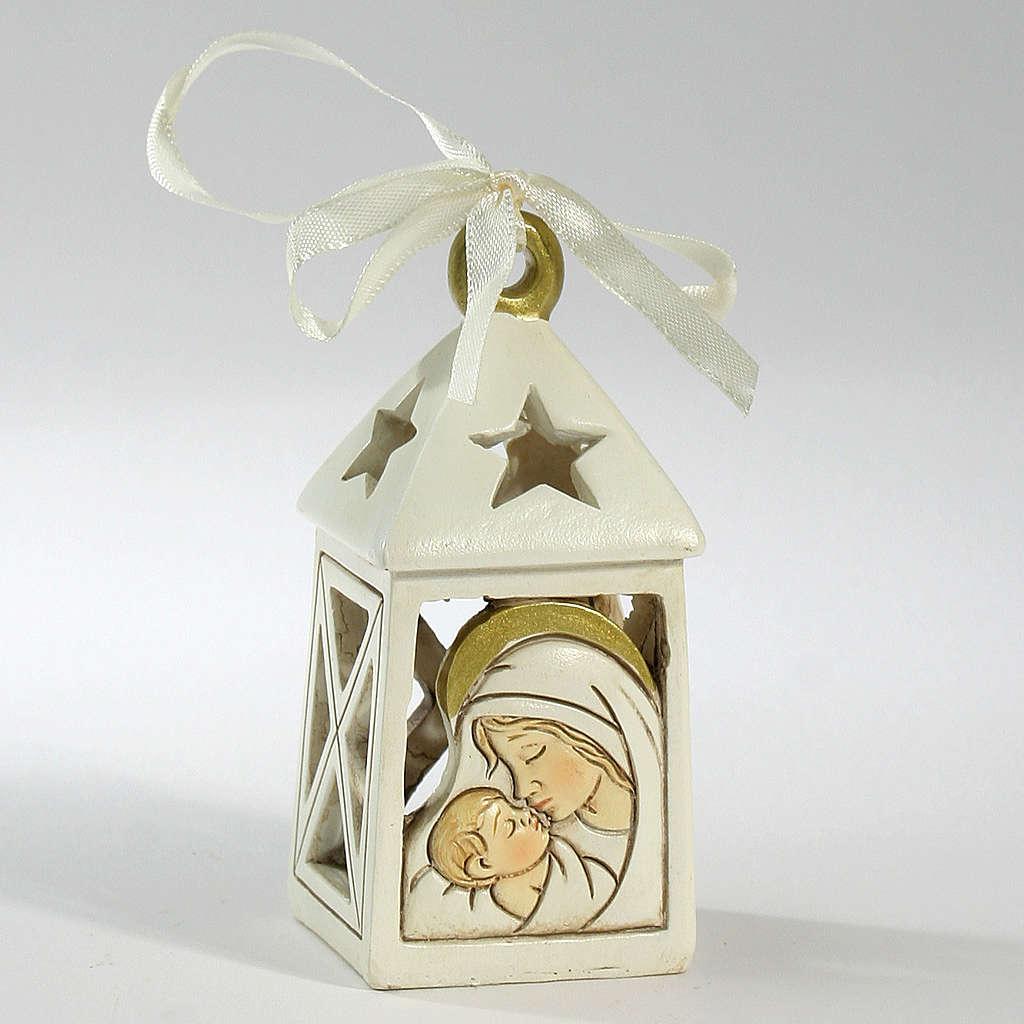 Ricordino Nascita Lanterna Maternità 10 cm LED 3