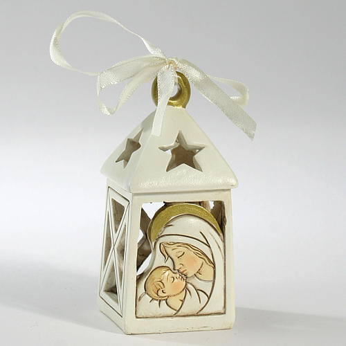 Ricordino Nascita Lanterna Maternità 10 cm LED 1