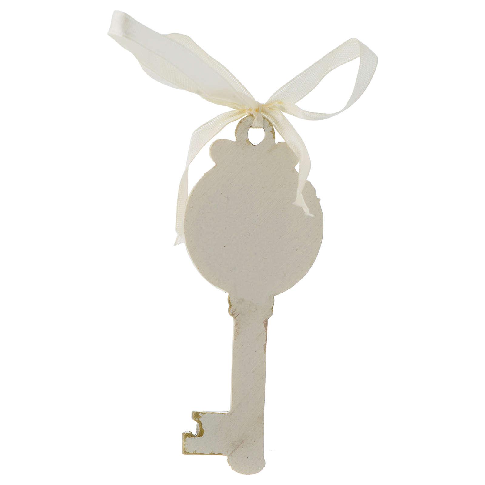 Key ribbon Girl First Communion 10cm 3
