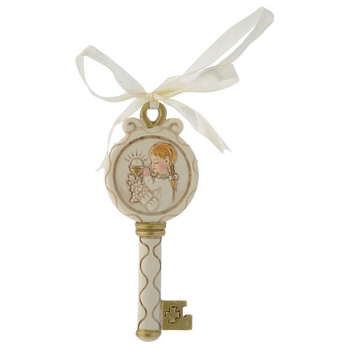 Key ribbon Girl First Communion 10cm 1