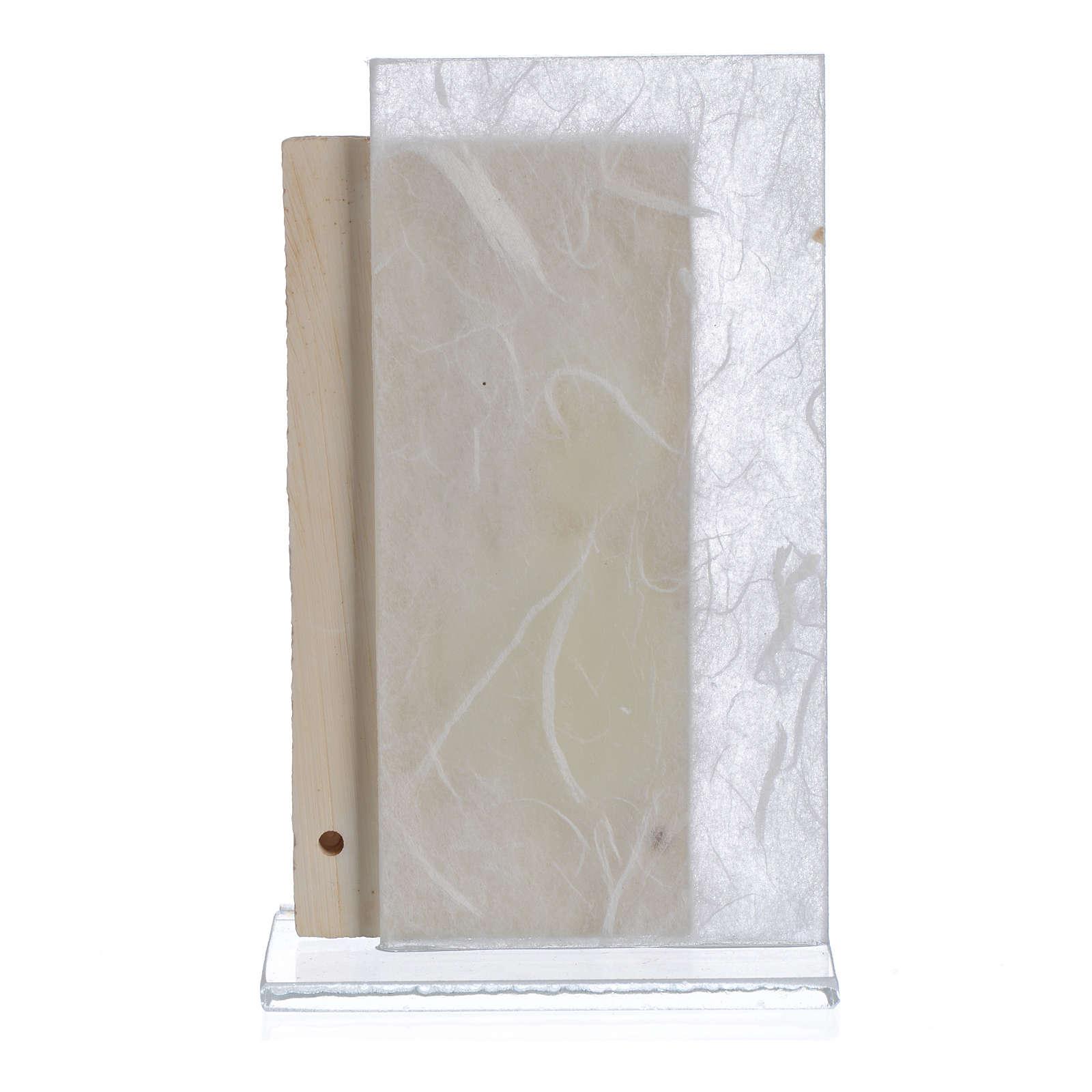 Bomboniera Comunione bimba bianco 11,5 cm 3