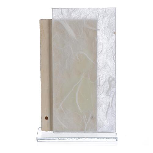 Bomboniera Comunione bimba bianco 11,5 cm 2