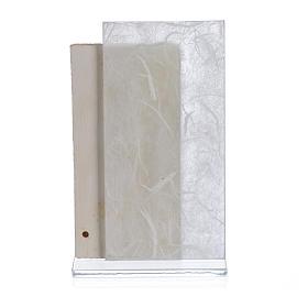 Recuerdo Comunión niño papel seda Blanco 11,5 cm s2