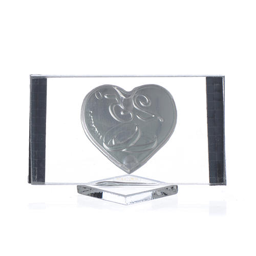 Bomboniera Anniversario 25 anni Quadro argento cm 4,5x7 2