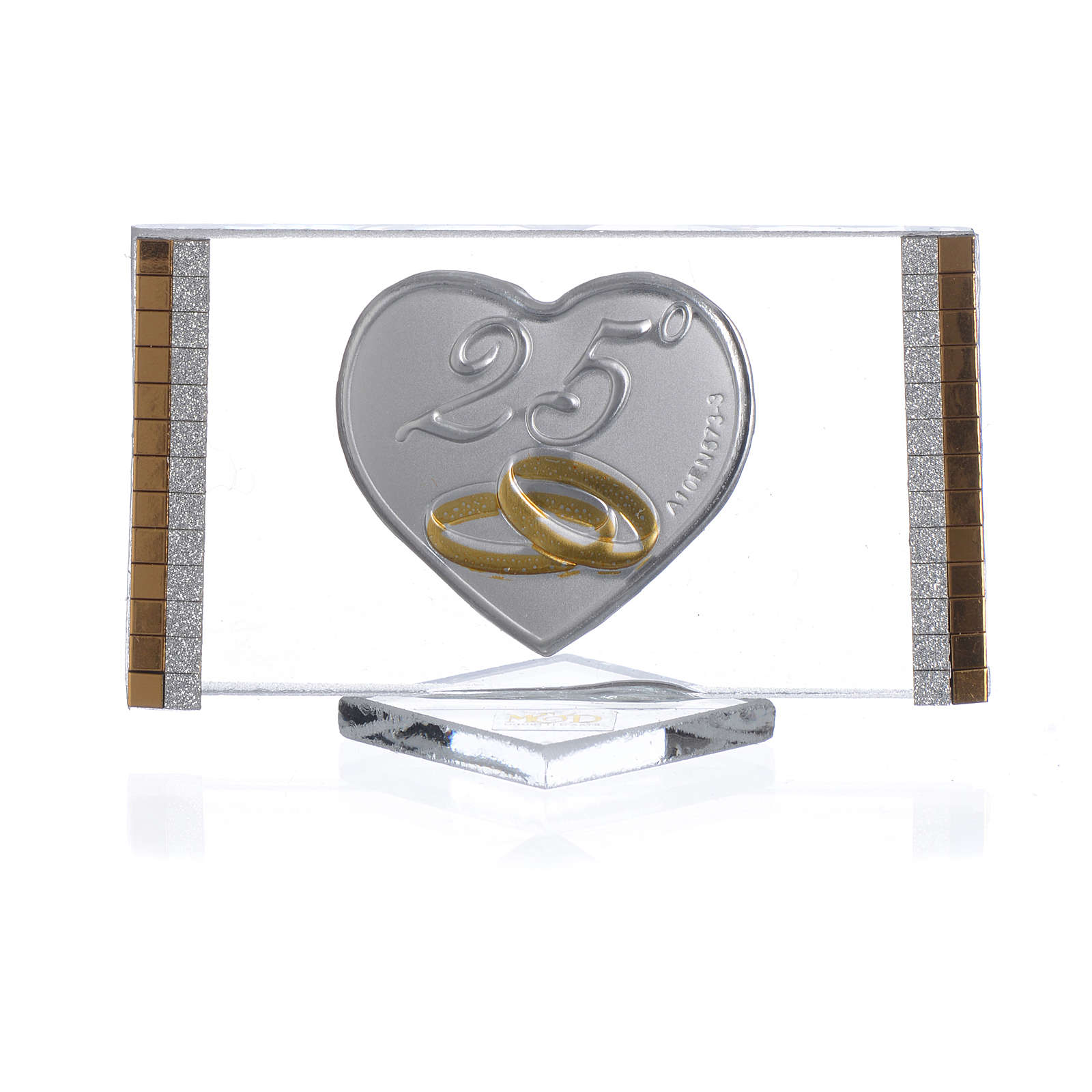 25 year anniversary favour, picture measuring 4.5x7cm 3