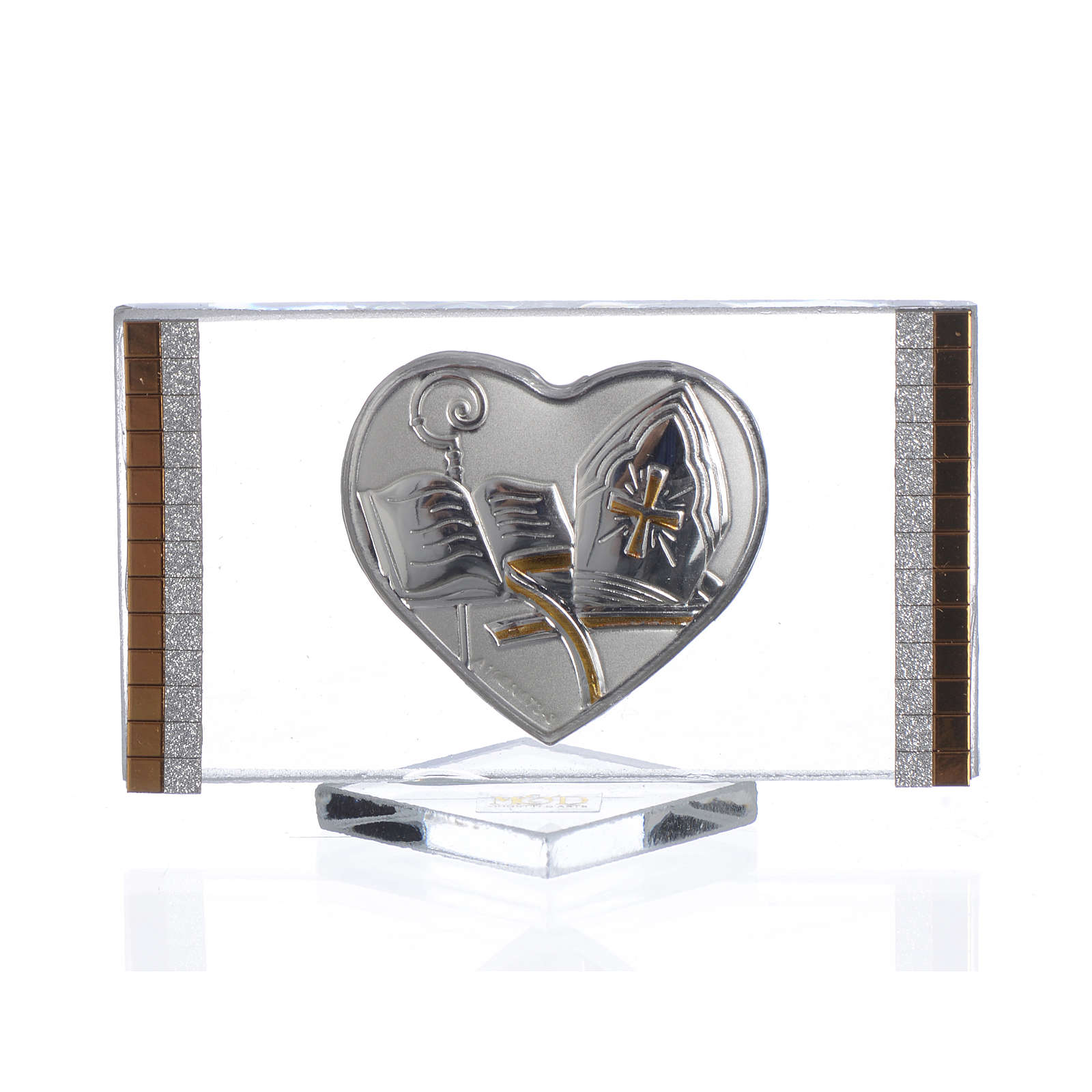 Confirmation favour, picture with heart measuring 4.5x7cm 3