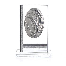 Quadretto ovale Fedi  7,5x5 cm s1