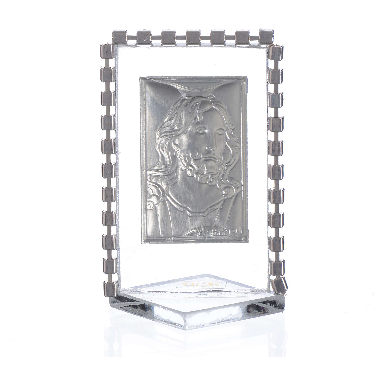 Picture with image of Christ, rhinestones 5.5x3.5cm 3