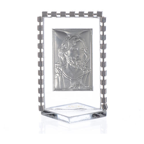 Picture with image of Christ, rhinestones 5.5x3.5cm 2