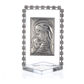 Cadre Maternité avec strass 5,5x3,5 cm s1