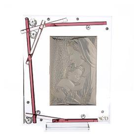 Souvenir Naissance cadre maternité violet 19x15 cm s3
