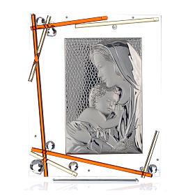 Cadre Maternité ambre 34x28 cm s1
