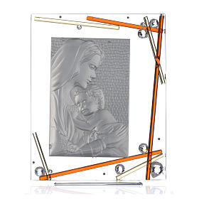 Ricordino Nascita Quadro Maternità Ambra 34x28 cm s3