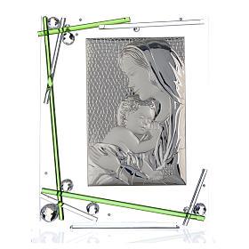 Cadre Maternité vert 34x28 cm s1