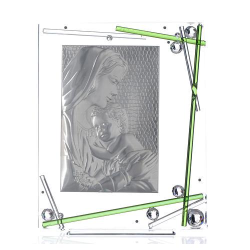 Cadre Maternité vert 34x28 cm 3