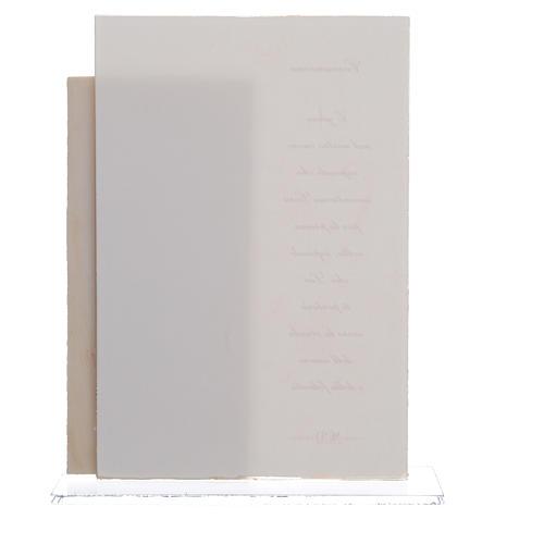 Quadretto Comunione Bimbo quadretto con stampa h. 17 cm 4