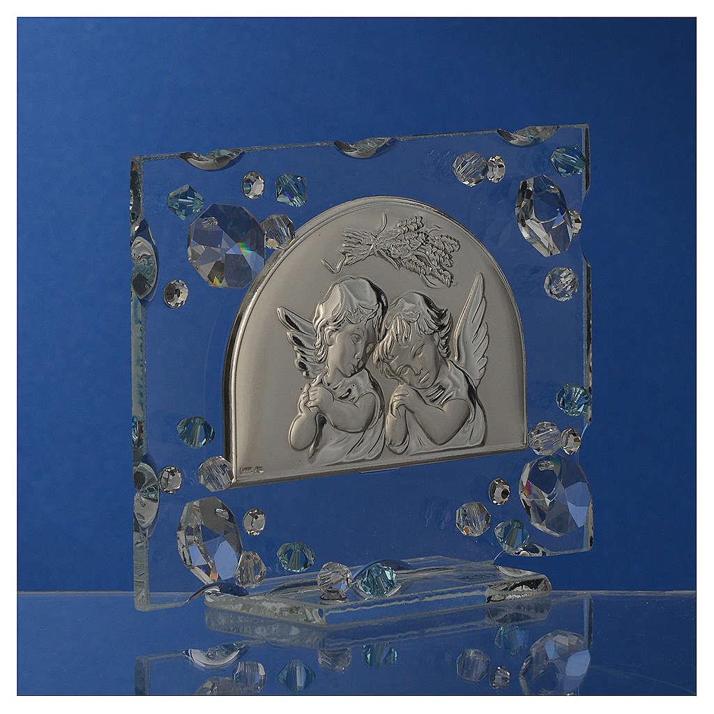 Pamiątka na Chrzest Jesień Swarovski morski 3