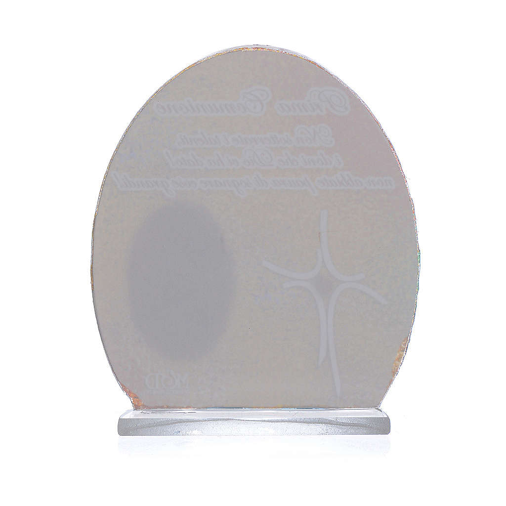 Cuadro Comunión Papa Francisco  8,5 cm 3