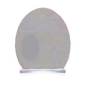 Cuadro Comunión Papa Francisco  8,5 cm s2