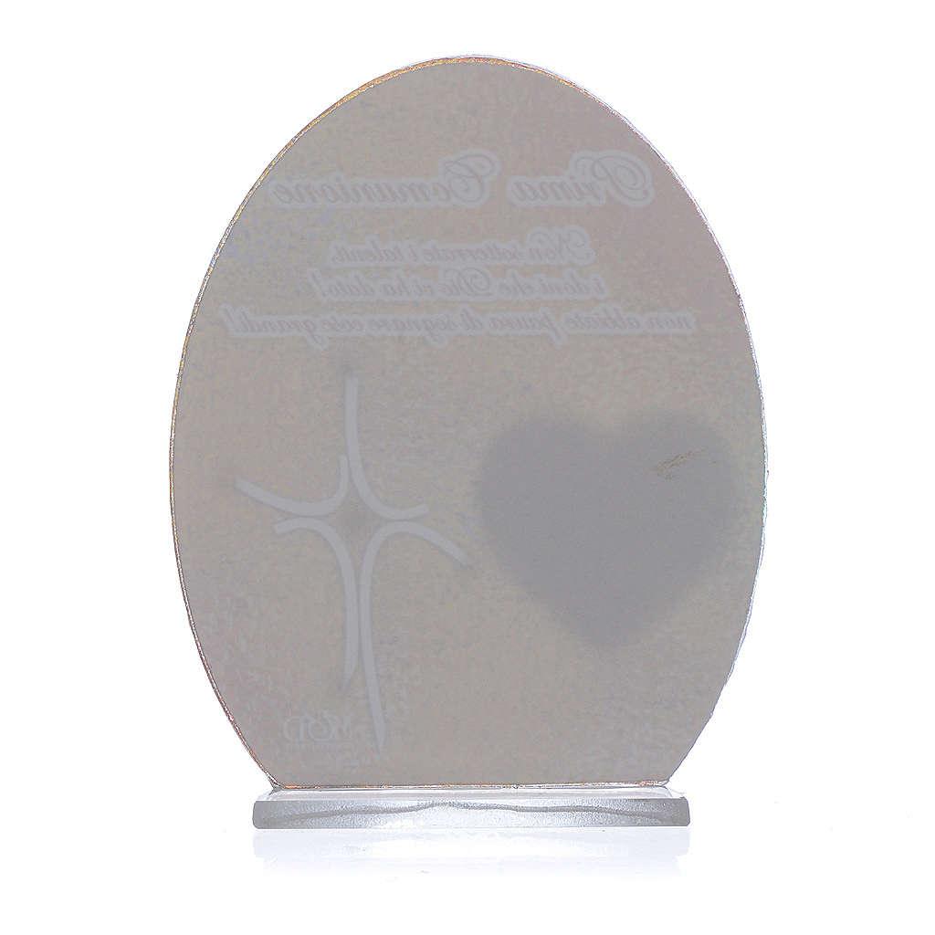 Cuadro Comunión Papa Francisco 10,5 cm 3