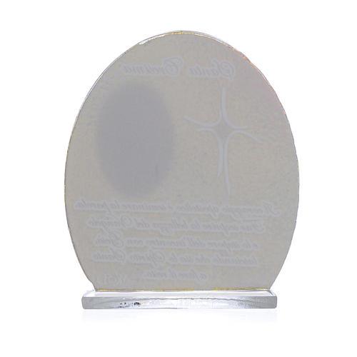 Bomboniera Cresima Papa Francesco 8,5 cm 2