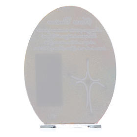 Bomboniera Cresima quadro Papa Francesco 16,5 cm s4