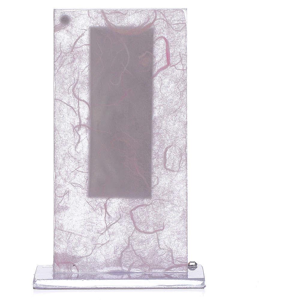 Pamiątka Macierzyństwo srebro kolor różowy i liliowy 3