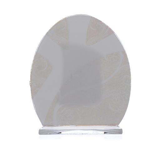 Confirmation Favour in silver foil 8.5cm 2