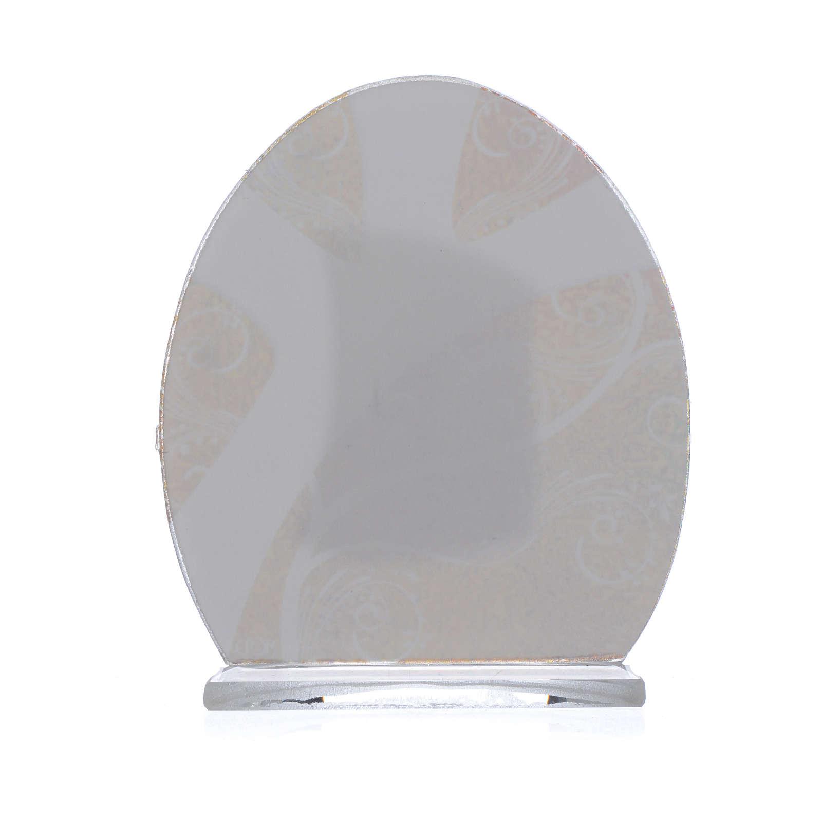 Bomboniera Cresima  arg. 8,5 cm 3