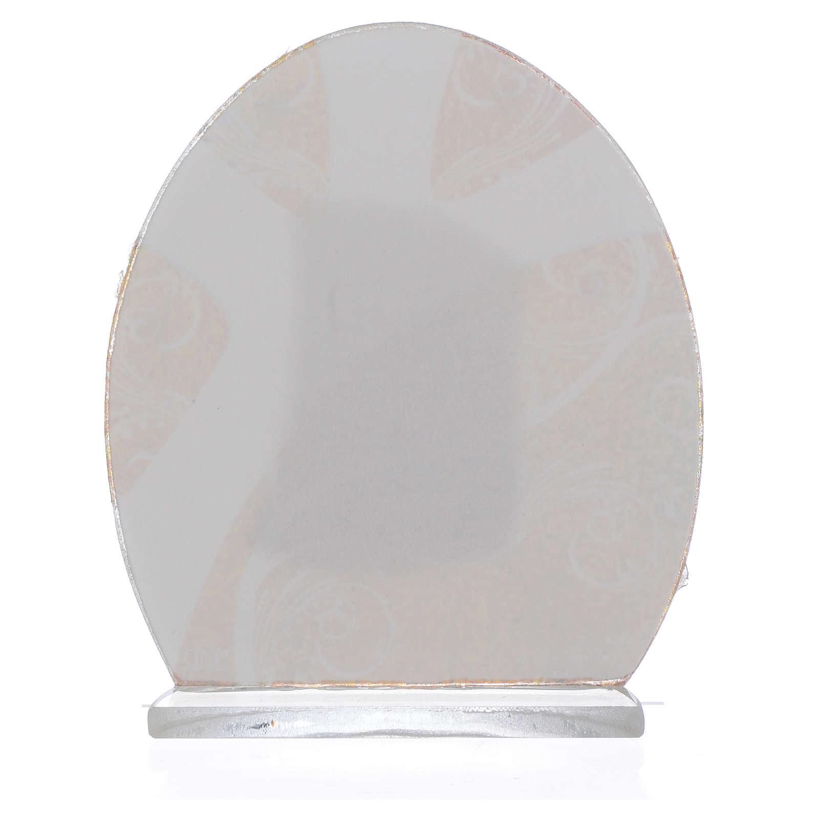 Bomboniera Sacra Famiglia Argento 8,5 cm 3
