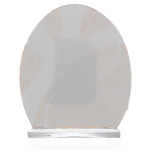 Bomboniera Sacra Famiglia Argento 8,5 cm 2