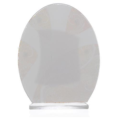Geschenkidee Kommunion Mädchen Silber Platte 10.5cm 2