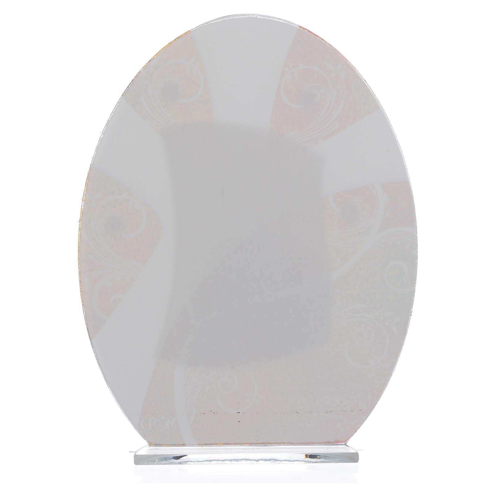Bonbonnière Première Communion Garçon argent 16,5 cm 3