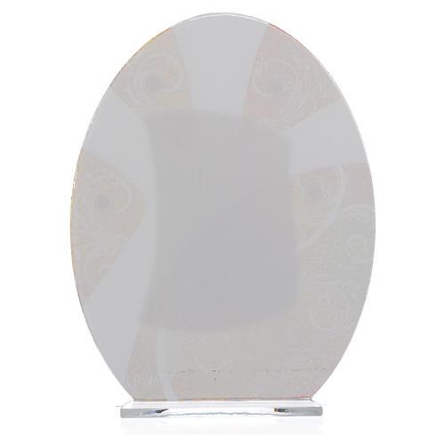 Bonbonnière Première Communion Garçon argent 16,5 cm 2