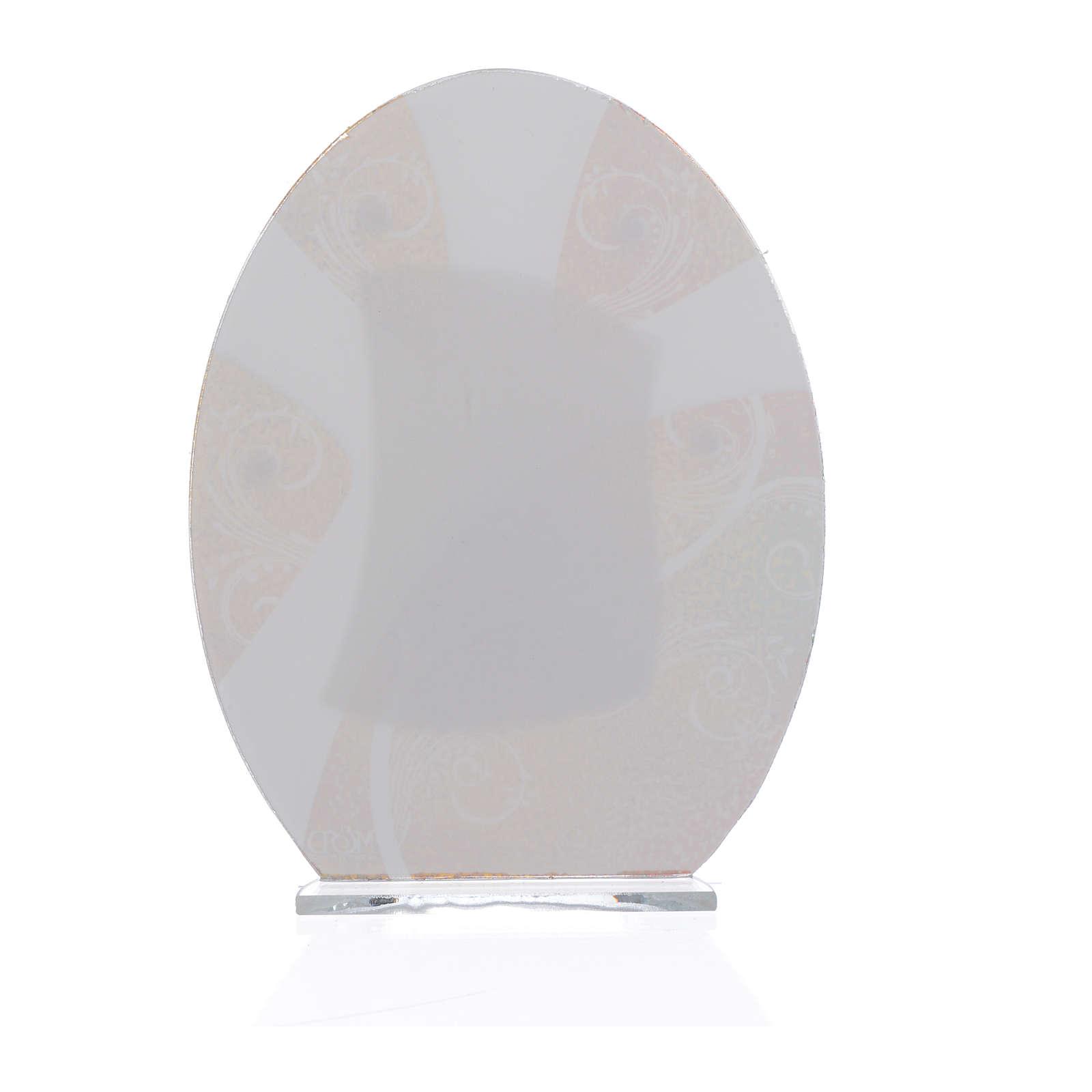 Lembrancinha Casamento S. Família prata 16,5 cm 3