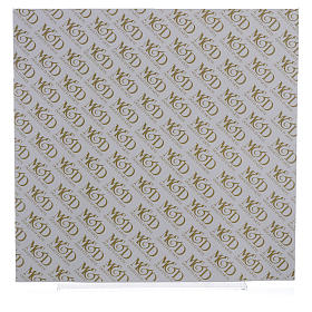 Quadro S. Famiglia rosa - lilla 30x30 cm s3