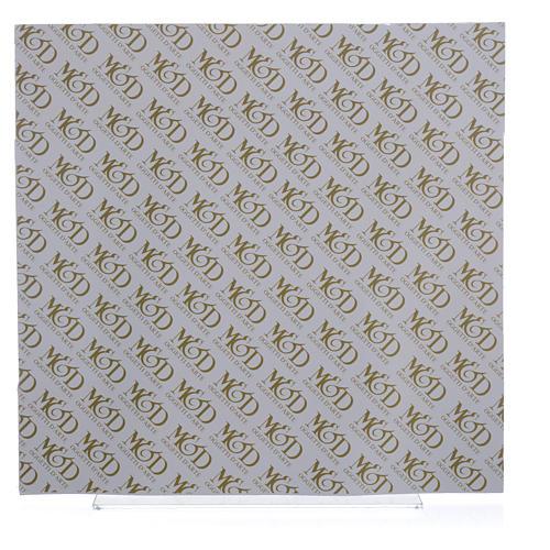 Cadre anges ivoire-brun 30x30 cm 3