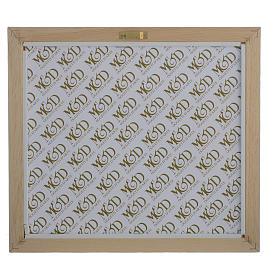 Quadro Matrimonio S. Famiglia Avorio-tabacco 29x26 cm s3