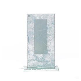 Pamiątka święta Rodzina srebrny i niebieski 11,5cm s3